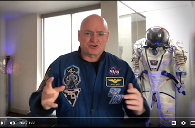 Scott Kelly's message to the UN Environment Assembly 2017